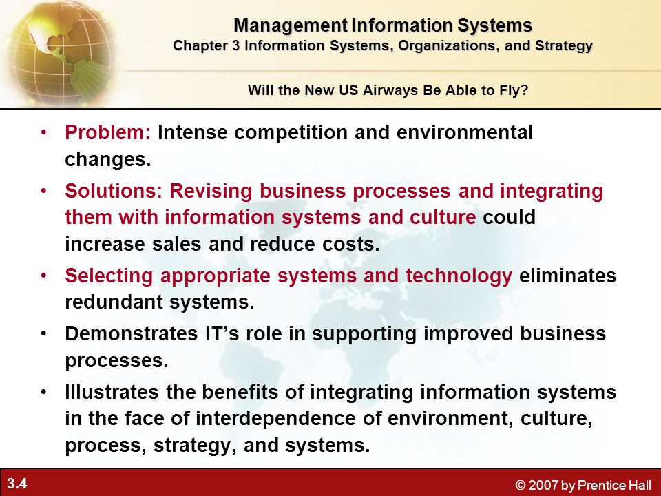 3.5 © 2007 by Prentice Hall Organizations and Information Systems What is an organization.