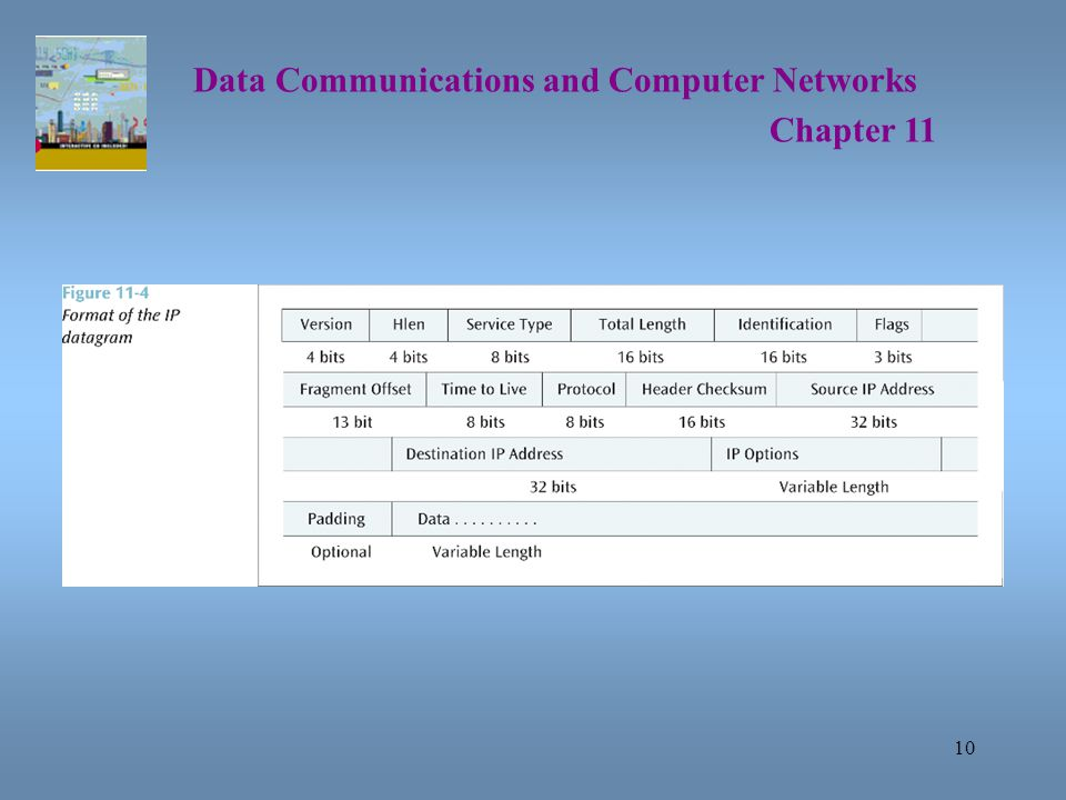 10 Data Communications and Computer Networks Chapter 11