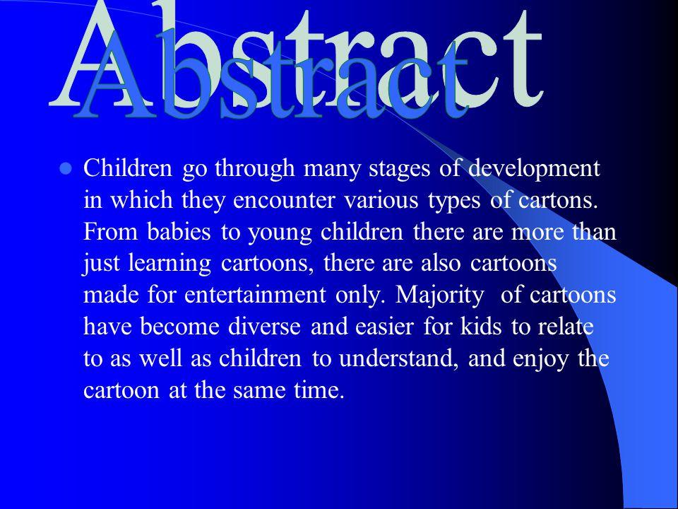 Cartoons on Child's Development Shar'meon Price Psychology 3233.01