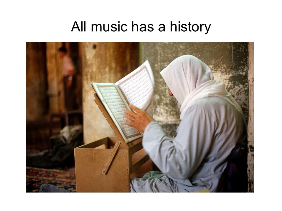 All music has a history