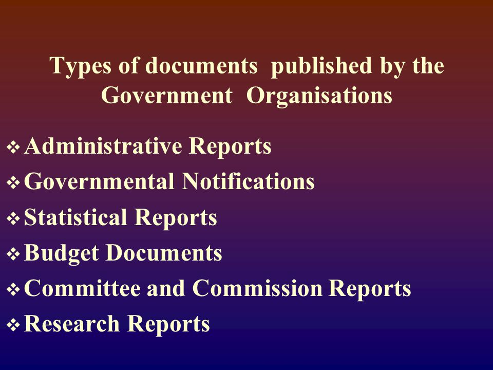  Bills, Acts, Laws, Codes, Rules and Regulations, Law Reports, Digests and Parliamentary Debates  Reports of various Parliamentary Committees