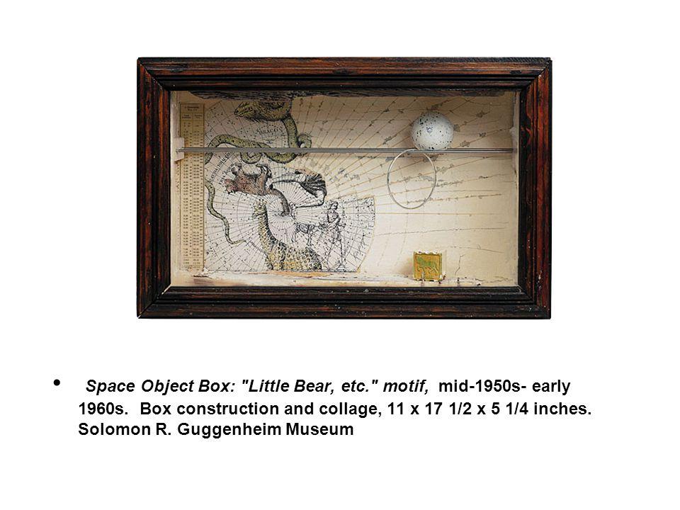 Space Object Box: Little Bear, etc. motif, mid-1950s- early 1960s.