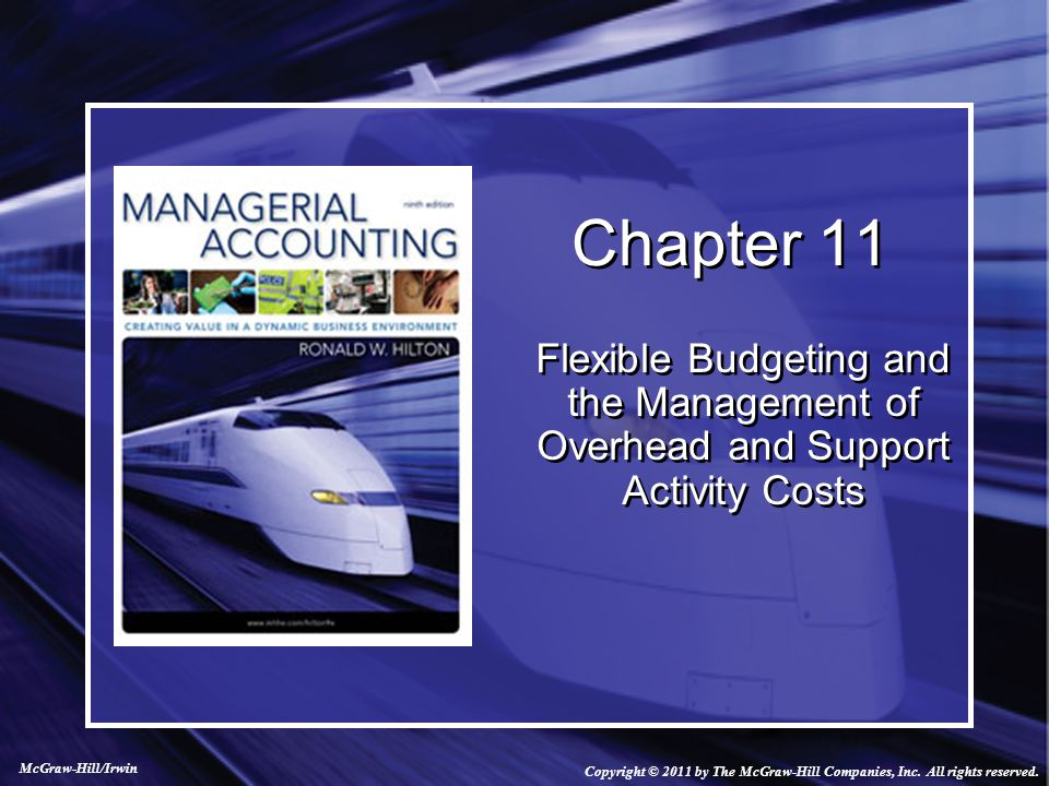 Activity-Based Flexible Budget If different cost drivers are identified for the different variable costs, an activity-based flexible budget should be prepared with different cost formulas based on the different drivers.