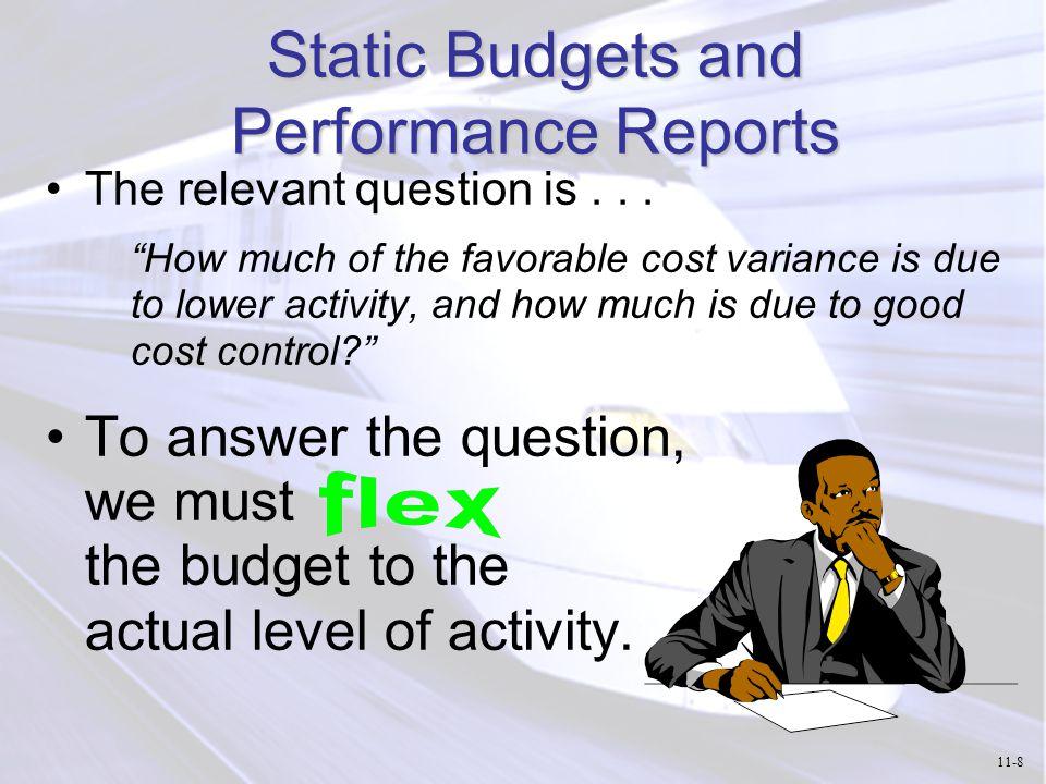 Overhead Cost Performance Report 11-49