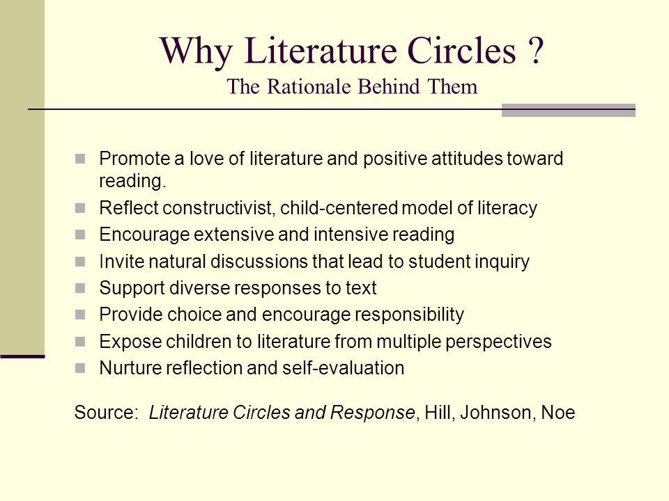 Why Literature Circles .