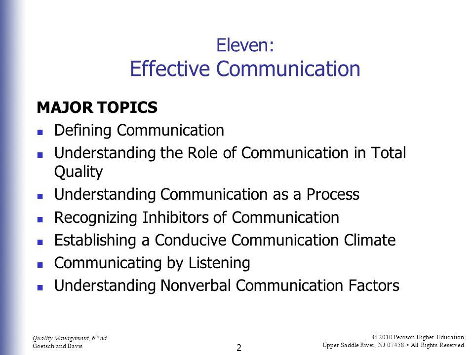 2 Quality Management, 6 th ed.