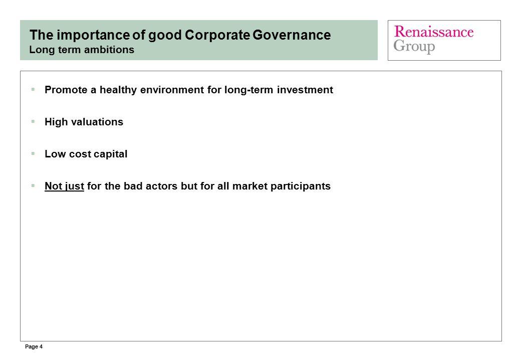 Page 5 Are international investors needed.