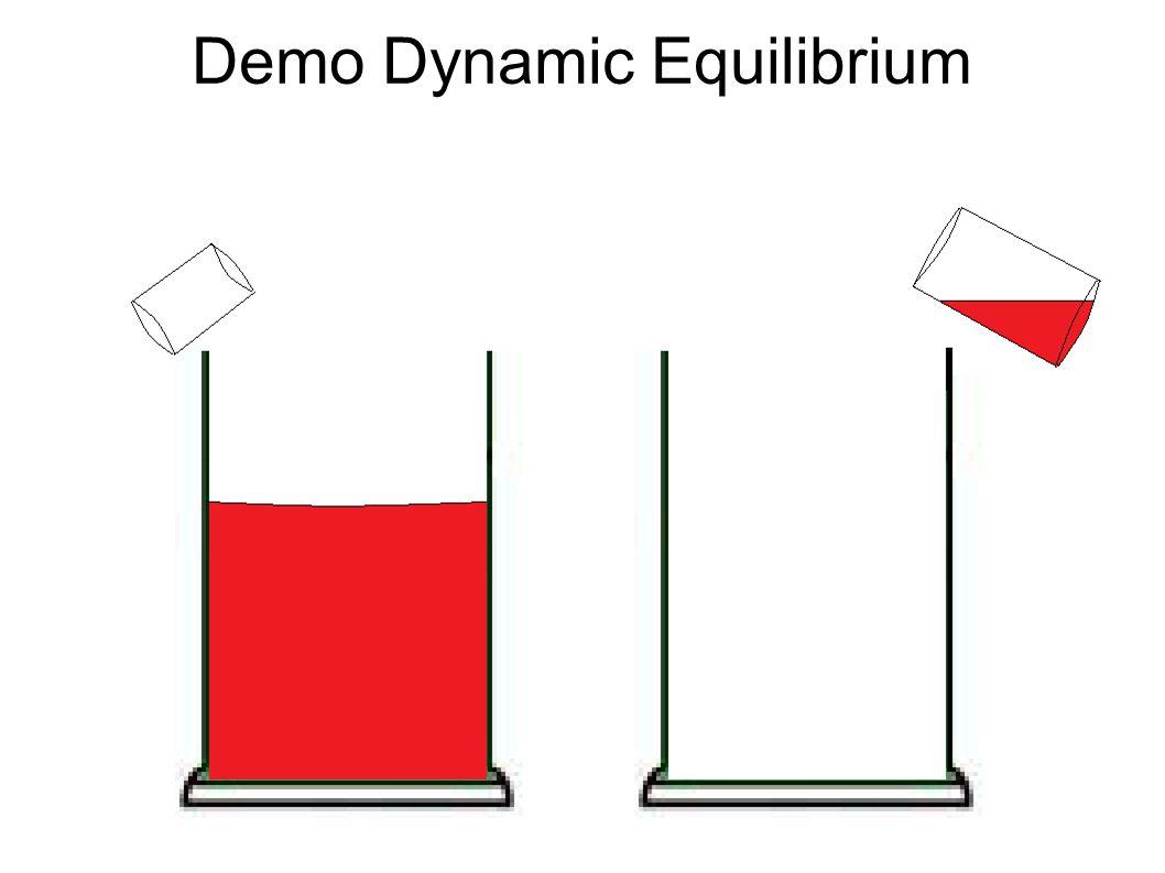 Demo Dynamic Equilibrium