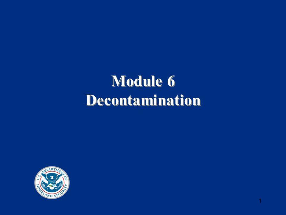 1 Module 6 Decontamination