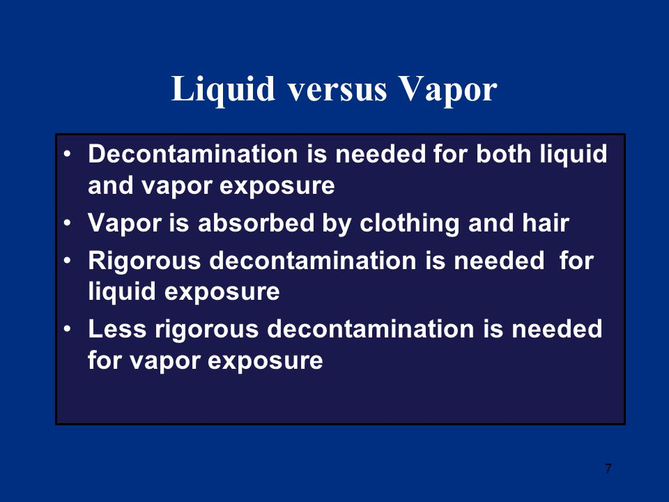 38 Special Considerations Considerations for biological contamination