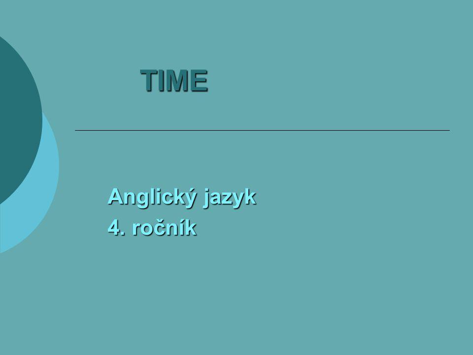 TIME Anglický jazyk 4. ročník