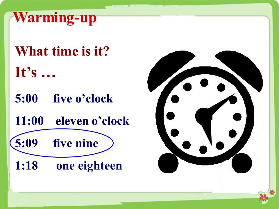 用英语表述下面的时间。 1.12:00 _______________________ 2. 5:30 ________________________ 3.
