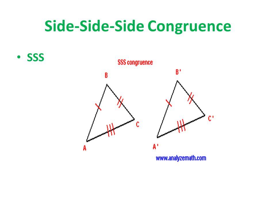 Side-Side-Side Congruence SSS