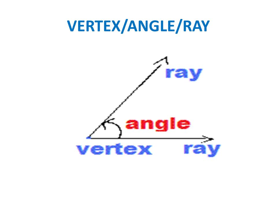 VERTEX/ANGLE/RAY