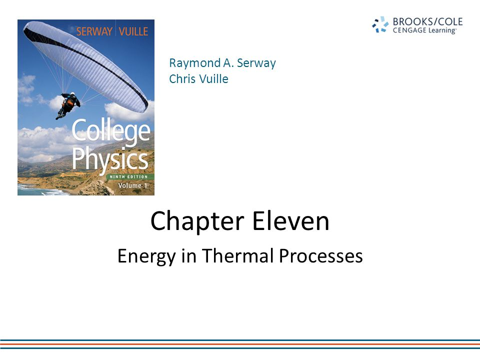 First Law of Thermodynamics The First Law of Thermodynamics tells us that the internal energy of a system can be increased by – Adding energy to the system – Doing work on the system There are many processes through which these could be accomplished – As long as energy is conserved Introduction
