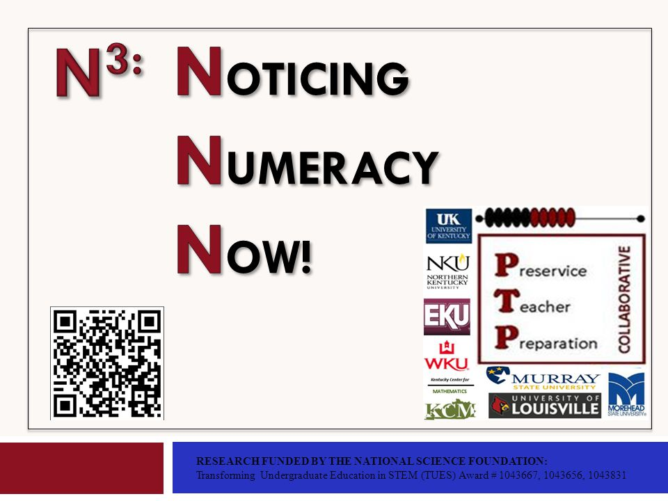 About Us Preservice Teacher Preparation Collaborative Jonathan ThomasNorthern Kentucky University KY Center for Mathematics thomasj13@nku.edu Edna O.