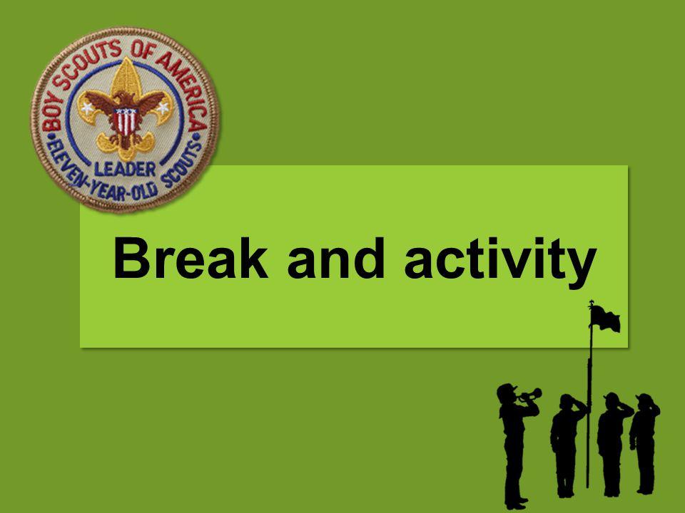 Break and activity