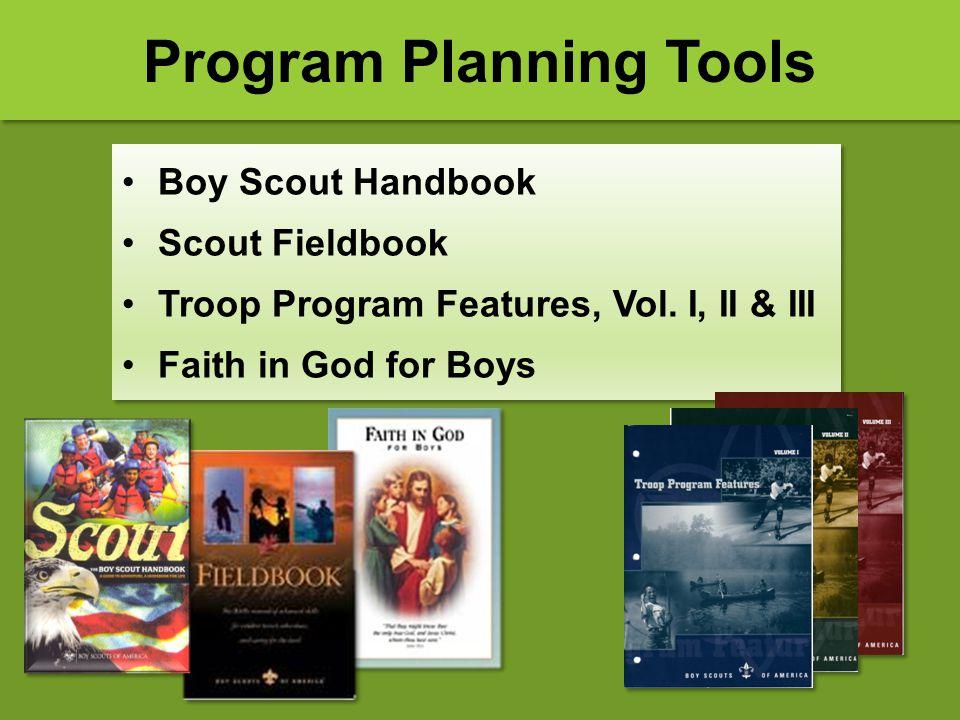Boy Scout Handbook Scout Fieldbook Troop Program Features, Vol. I, II & III Faith in God for Boys Boy Scout Handbook Scout Fieldbook Troop Program Fea