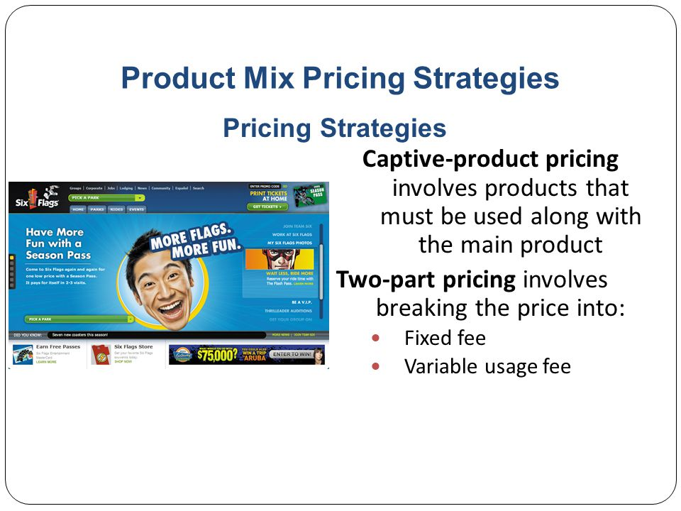 Price Mix Pricing Strategies By-product pricing refers to products with little or no value produced as a result of the main product.