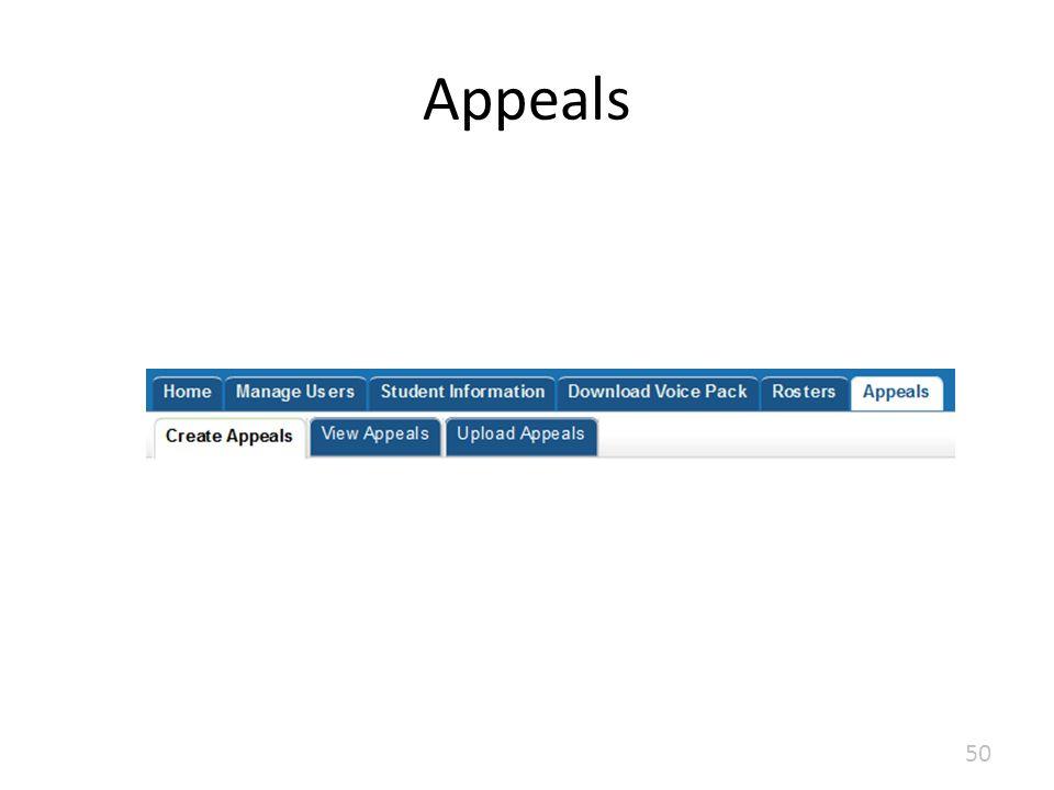Appeals 50