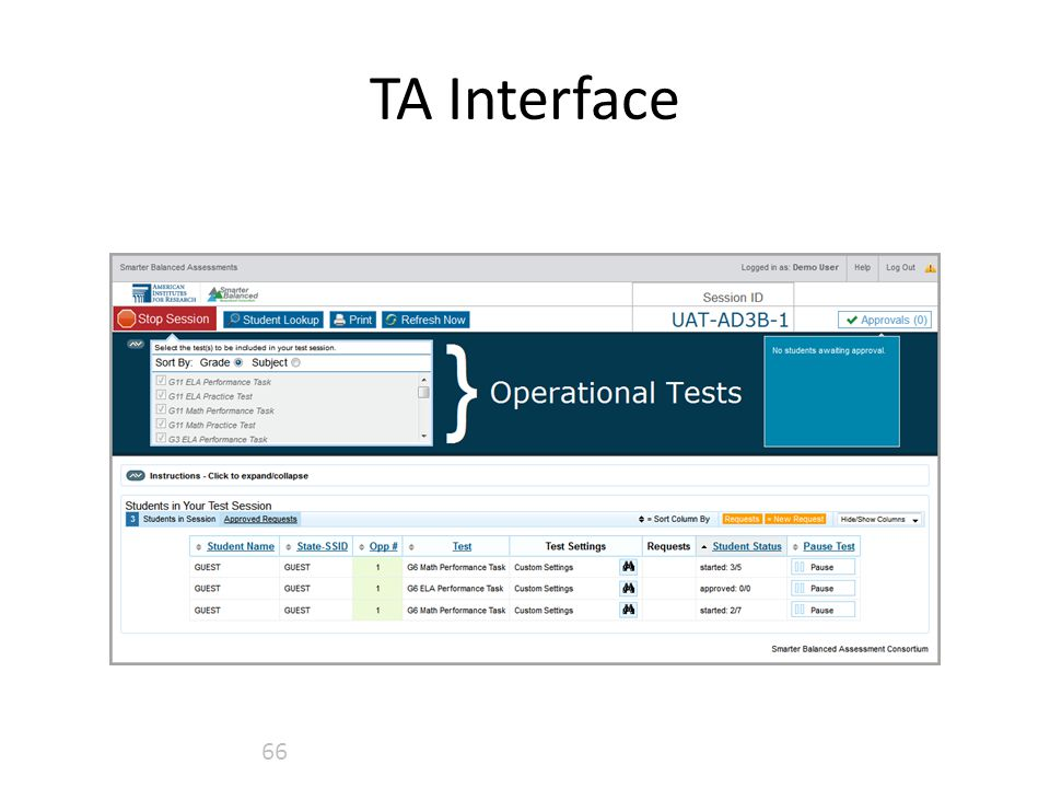 TA Interface 66