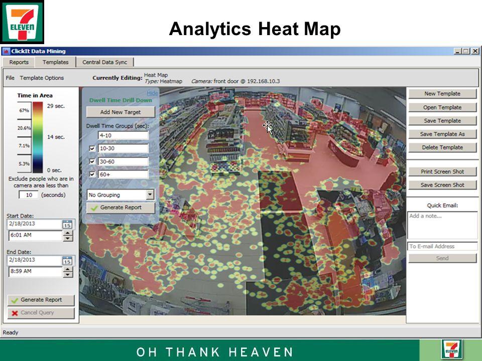 Analytics Heat Map