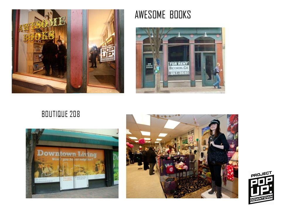 AWESOME BOOKS BOUTIQUE 208