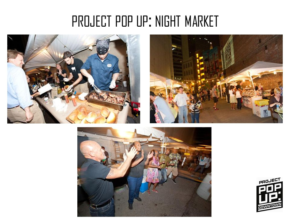 PROJECT POP UP : NIGHT MARKET