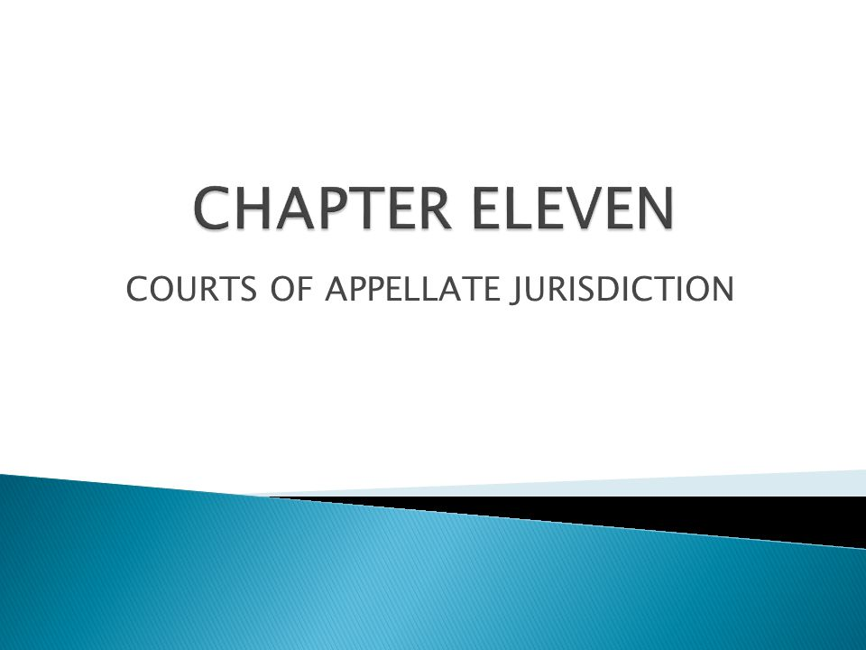  Errors inevitably occur in the court system  Appellate courts review issues of law  The issues of law are related to decisions made by other courts and administrative agencies