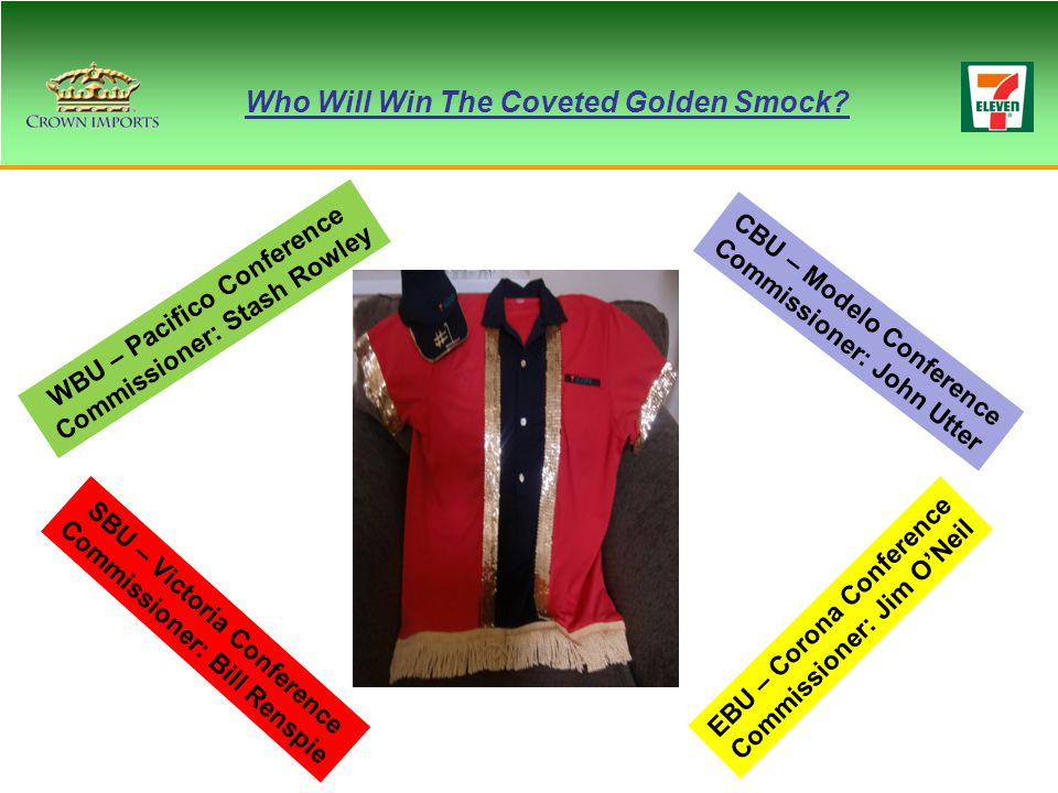 Who Will Win The Coveted Golden Smock.