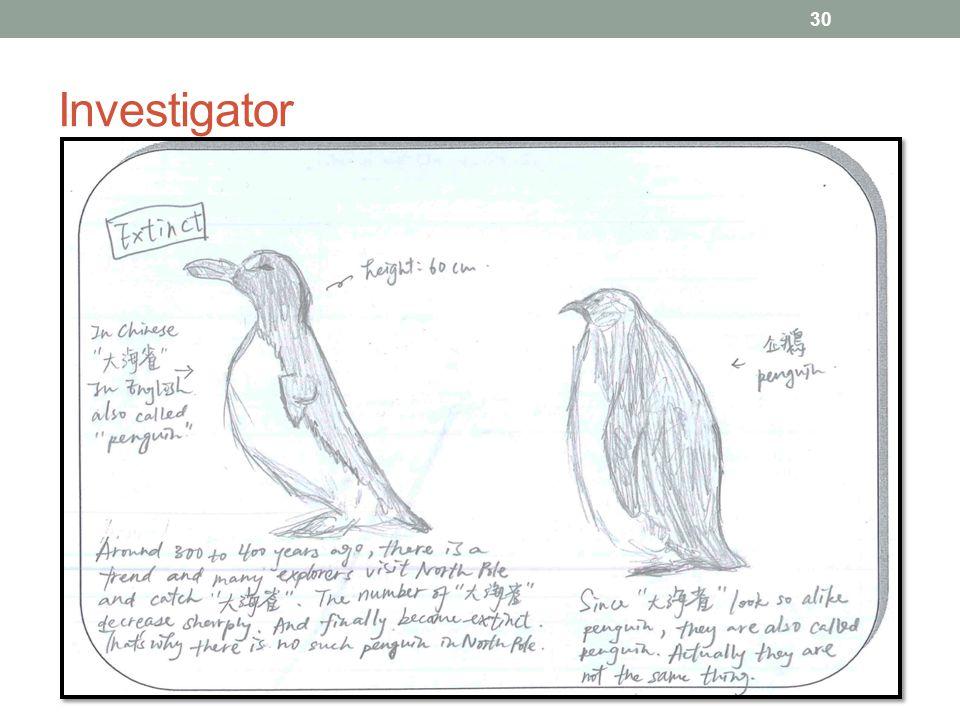 Investigator 30