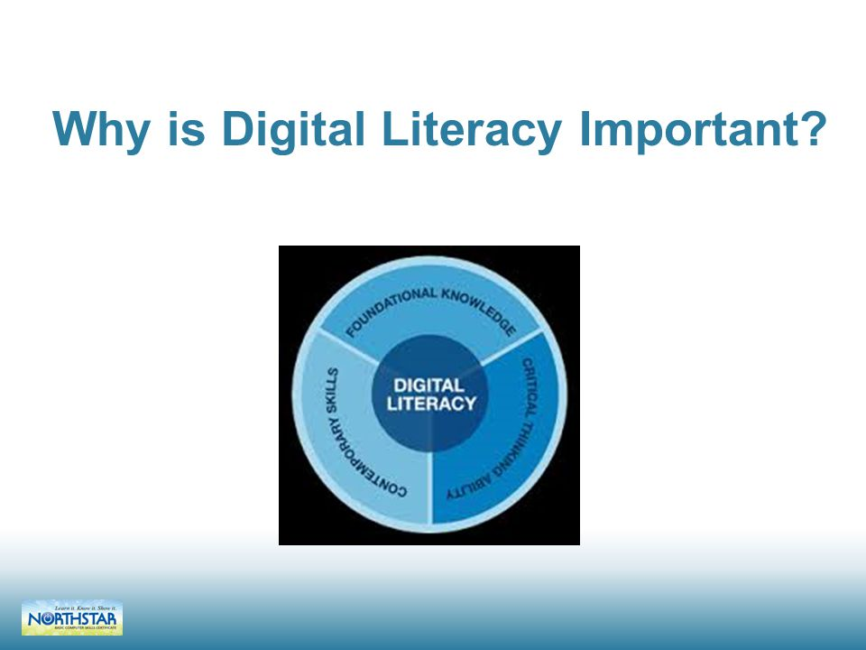 Why is Digital Literacy Important