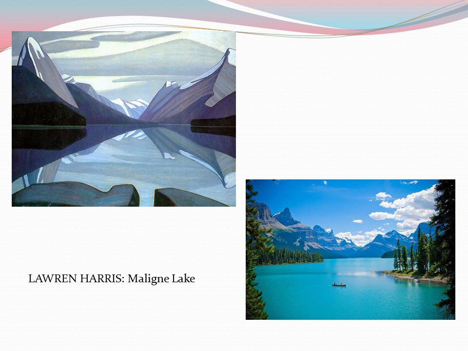 LAWREN HARRIS: Maligne Lake