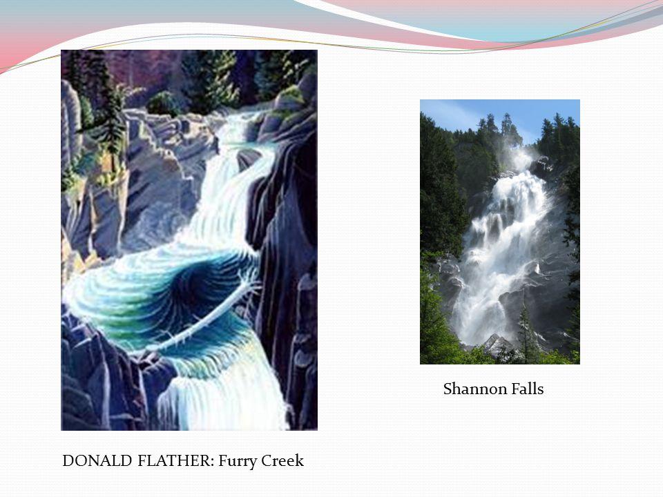 DONALD FLATHER: Furry Creek Shannon Falls