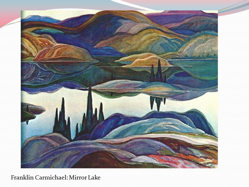 Franklin Carmichael: Mirror Lake