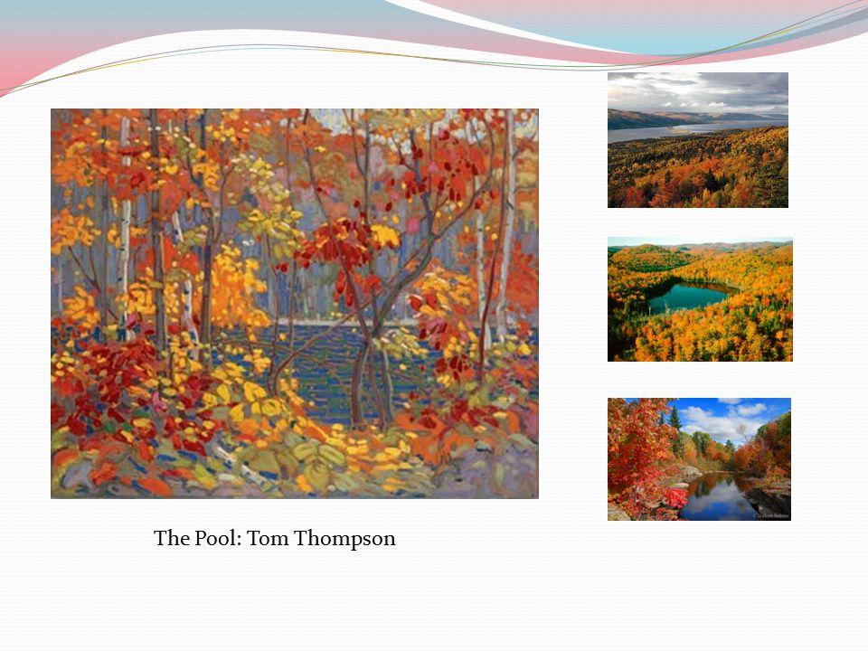 The Pool: Tom Thompson