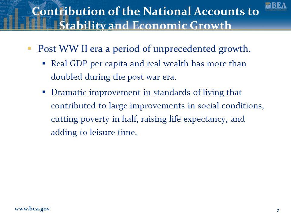 www.bea.gov How are International Statistics Used.