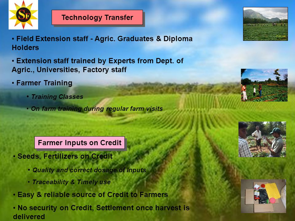 Field Extension staff - Agric.
