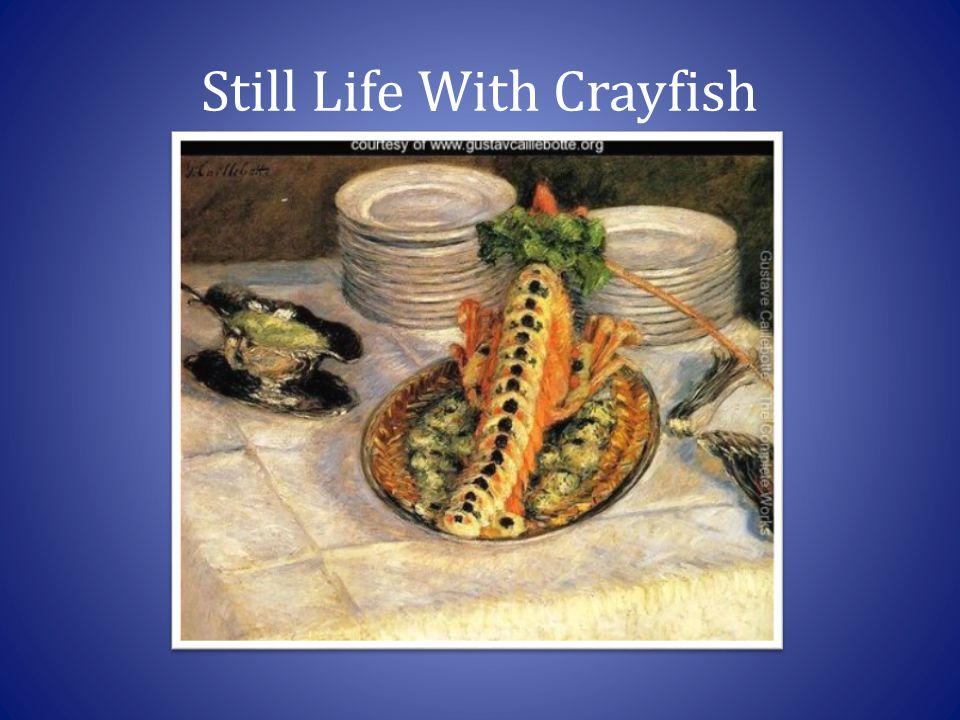 Still Life With Crayfish