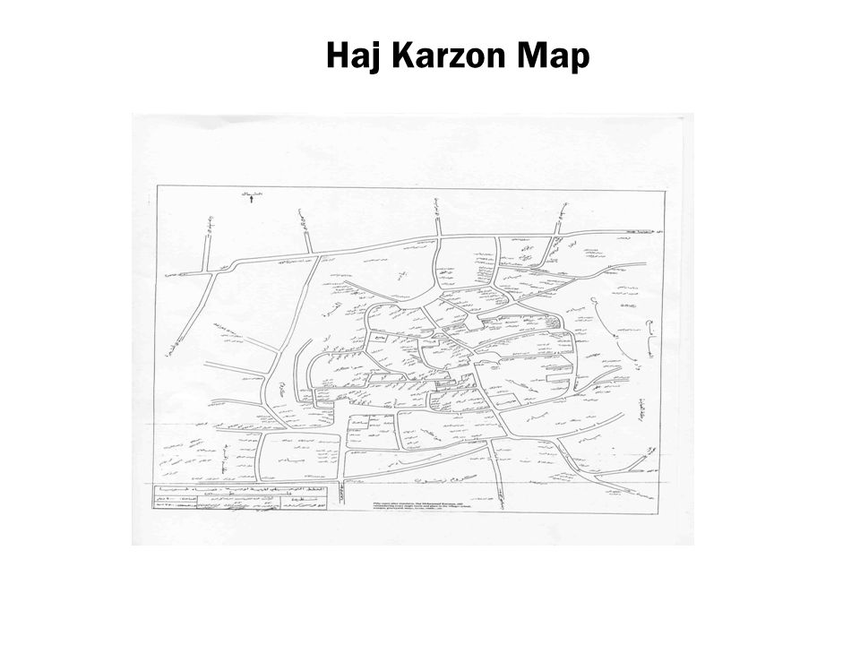 Haj Karzon Map