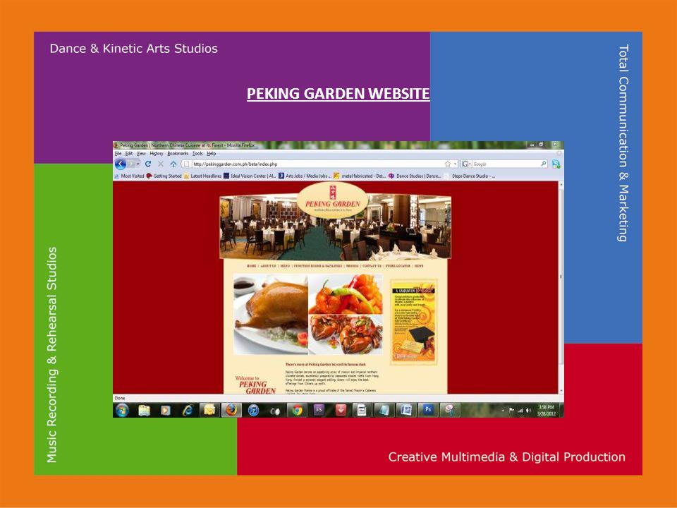 PEKING GARDEN WEBSITE