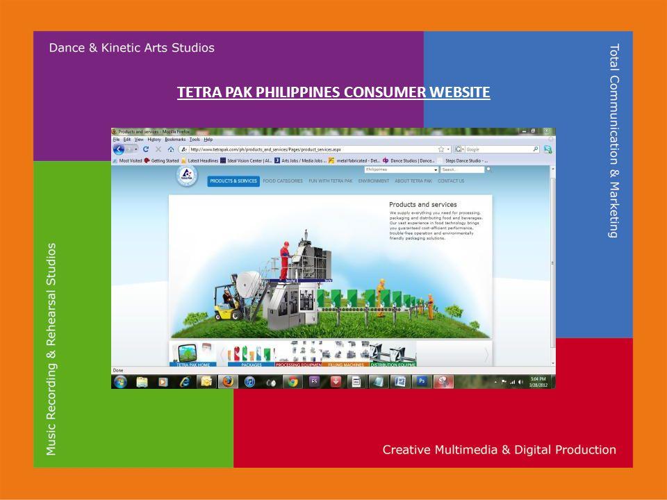 TETRA PAK PHILIPPINES CONSUMER WEBSITE