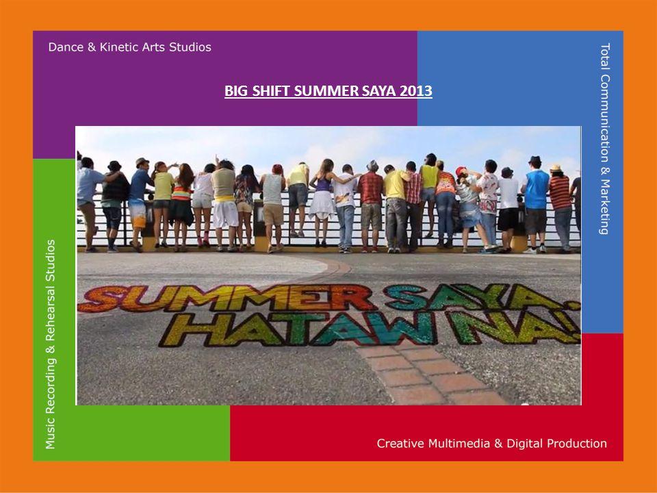BIG SHIFT SUMMER SAYA 2013