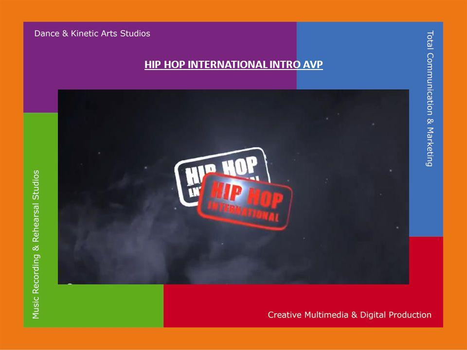 HIP HOP INTERNATIONAL INTRO AVP