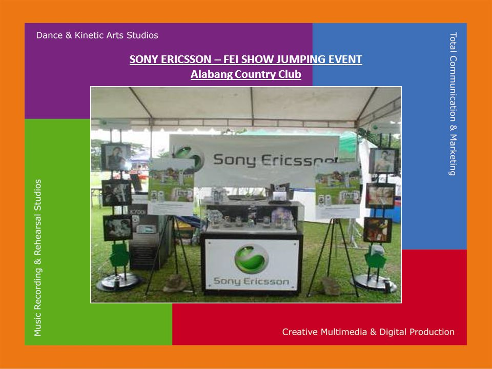 SONY ERICSSON – FEI SHOW JUMPING EVENT Alabang Country Club