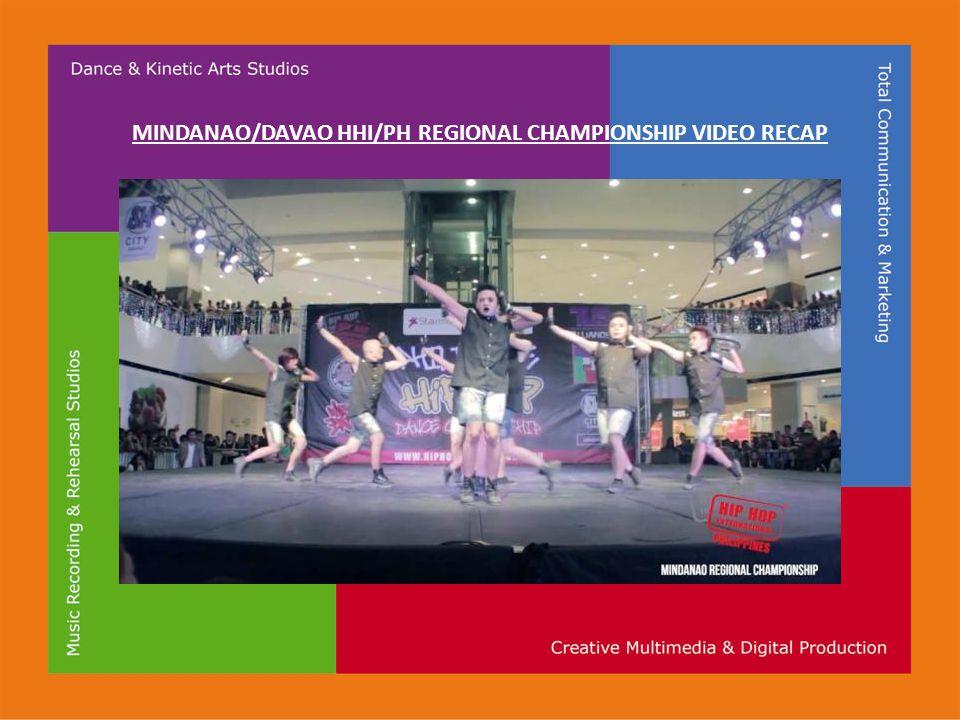MINDANAO/DAVAO HHI/PH REGIONAL CHAMPIONSHIP VIDEO RECAP