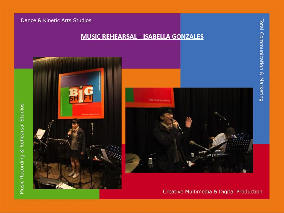 MUSIC REHEARSAL – ISABELLA GONZALES