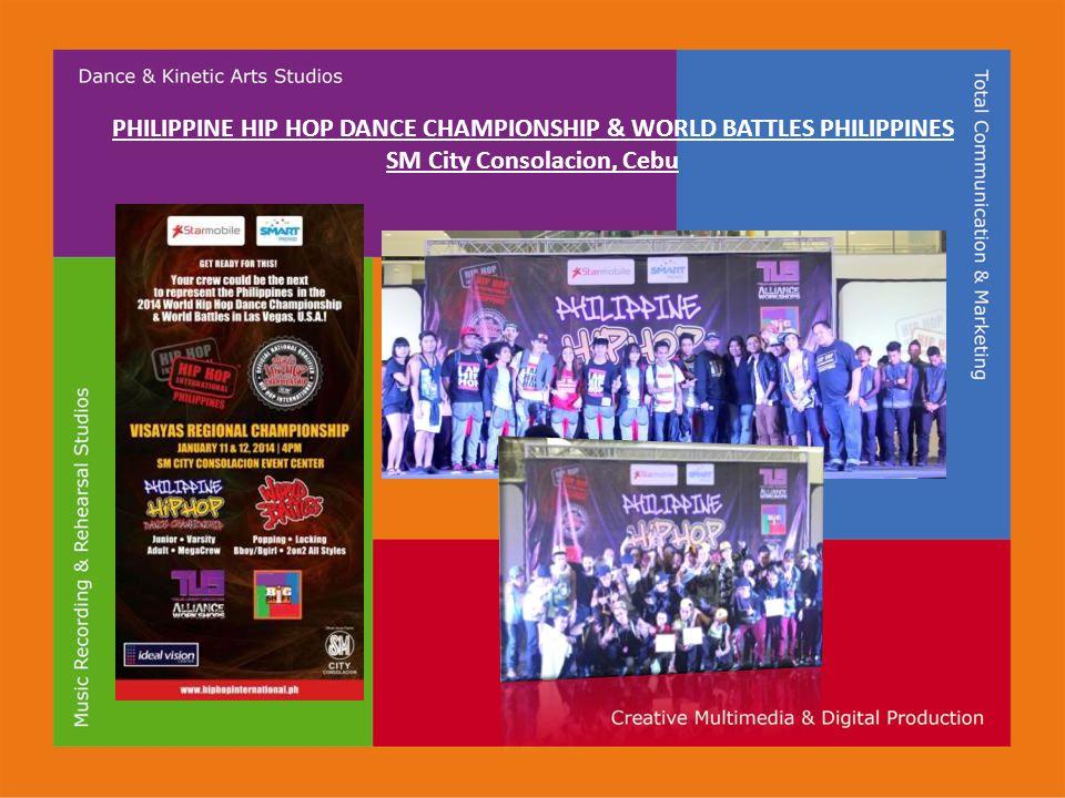 PHILIPPINE HIP HOP DANCE CHAMPIONSHIP & WORLD BATTLES PHILIPPINES SM City Consolacion, Cebu