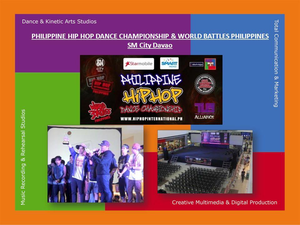 PHILIPPINE HIP HOP DANCE CHAMPIONSHIP & WORLD BATTLES PHILIPPINES SM City Davao