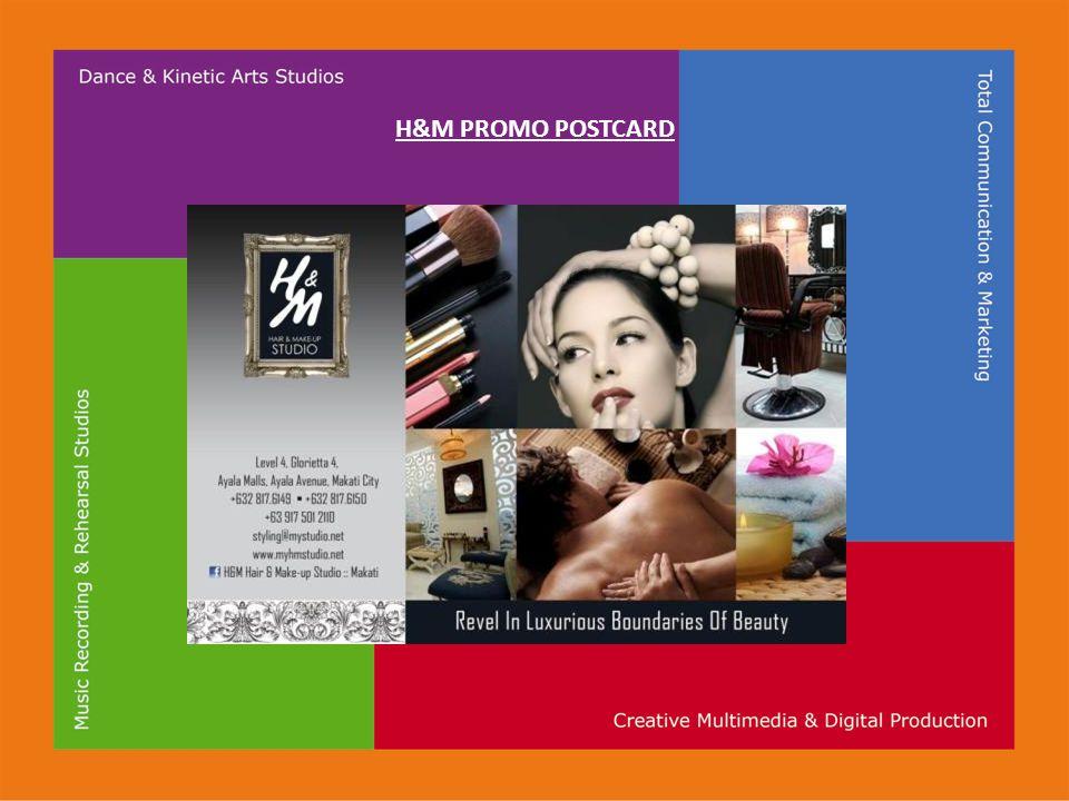 H&M PROMO POSTCARD
